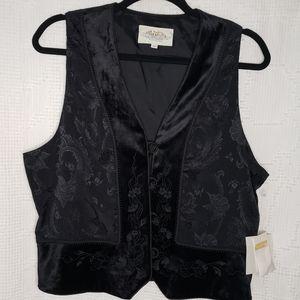 Susan Bristol NWT black vest